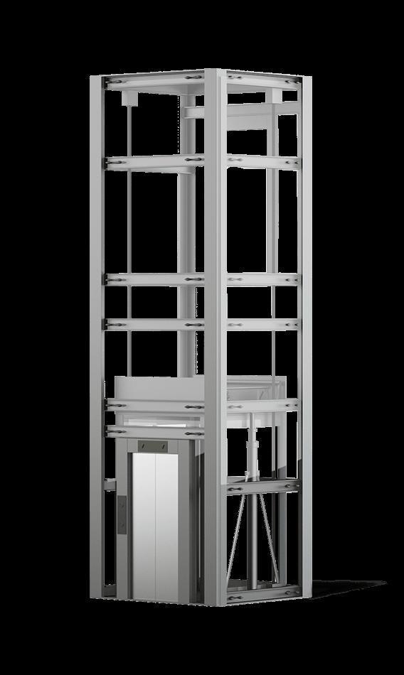 mô hình thang máy liên doanh
