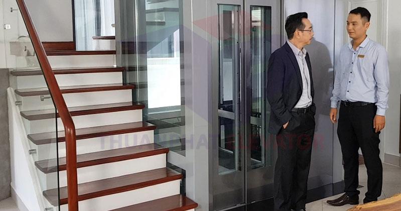 nhà 3, 4, 5 tầng có nên lắp thang máy