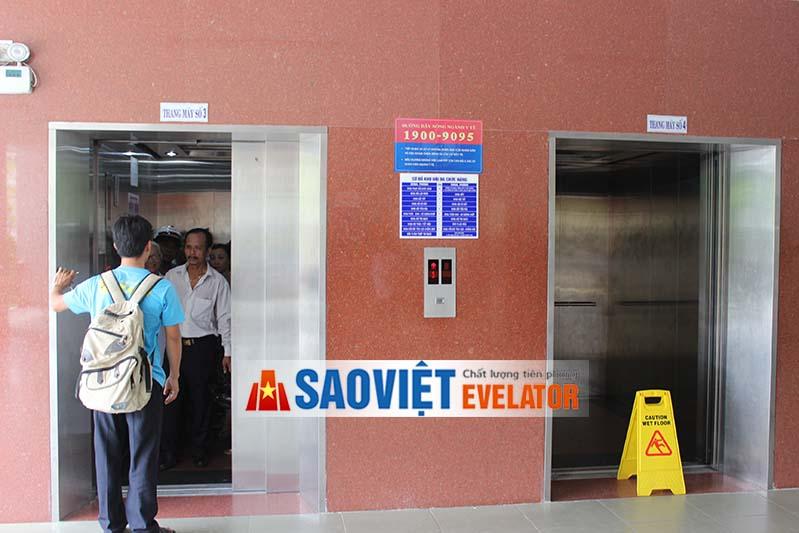 thang máy chính hãng luôn có độ an toàn cao nhất